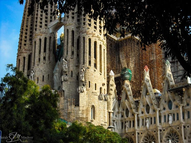 Segrada Familia Barcelona Spain